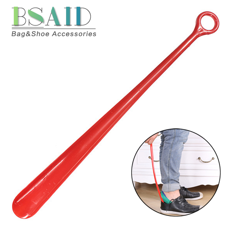 BSAID1Pcs Professional Shoe Horn 18.5inch Flexible Quality Easy Reach Handle Plastic Shoehorn Slip Aid Lifter Durable Shoes Horn женские часы lars larsen 126stbl
