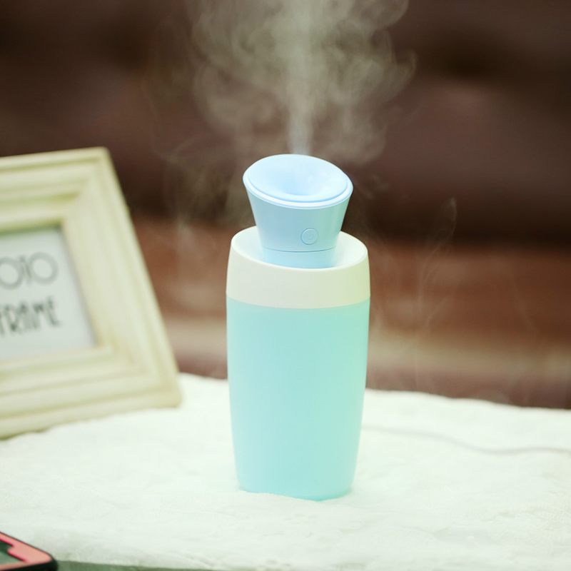 Hot Sale Creative Bottle Design Humidifier Wave Air Filter Es