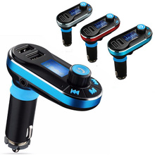 Marsnaska Car Kit Wireless FM Transmitter MP3 Player Car Charger For iPhone6 6s 7 Samsung Smart Phone