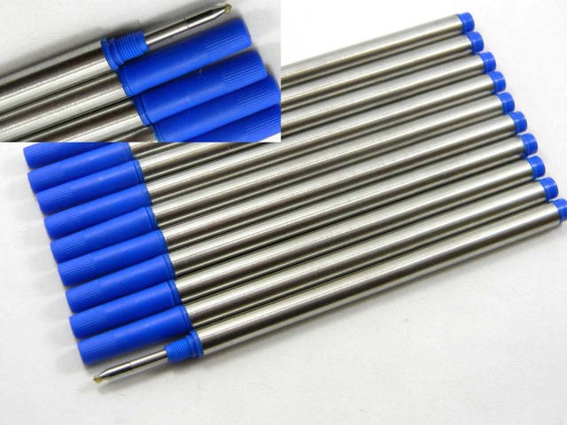 5pc Blue or 5pc black Offer Special Ink  Roller Ball Pen refills 5