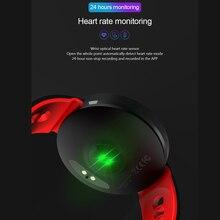 Smart Watch Fitness Tracker IP68  Waterproof Heart Rate Monitor