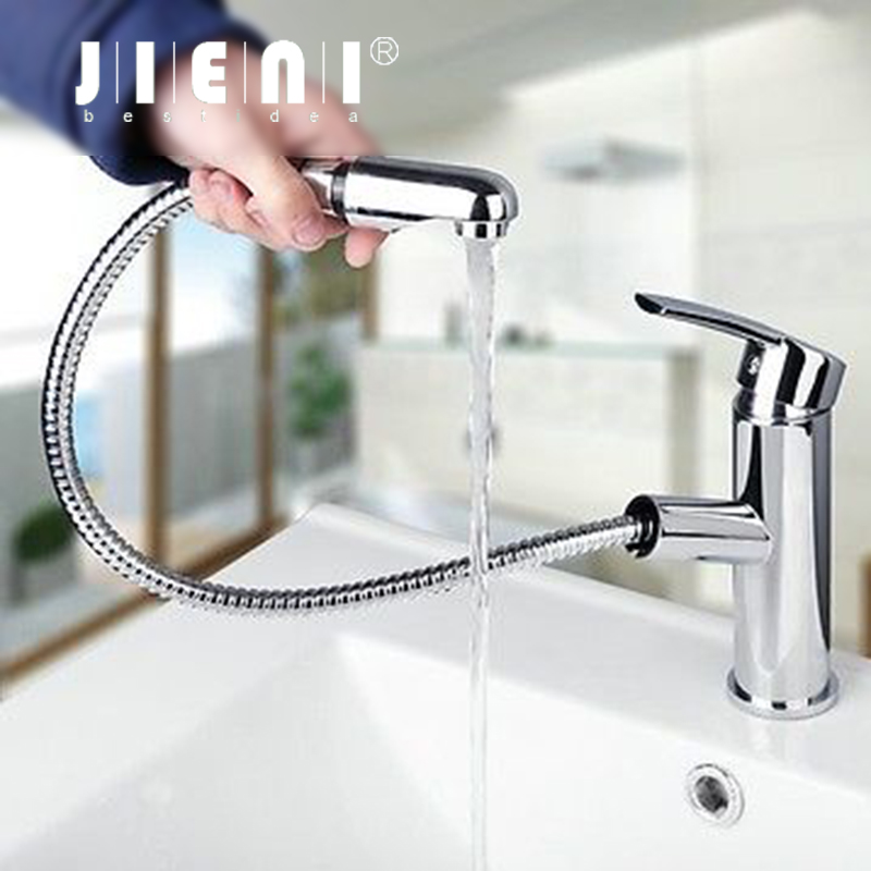 Brand New Deck Mounted Chrome Single Handle Bathroom &Kitchen  Stream  Brass Basin Sink Mixer Tap  Faucet YS8552-1 luxury 8008 new waterfall led light faucet battery powered chrome brass material single handle deck mounted tap kitchen faucet