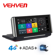 VEHVEN 4G ADAS Car DVR Camera GPS 6.86″ Android 5.1 Dashcam Registrar Full HD 1080P Video Recorder Dual Lens dvrs Gps Navigation