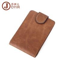 2016 High Quality Men Credit Card Holder Genuine Leather Middle Capacity Men Purses Wallets Card Holder For Male Man Bag K001