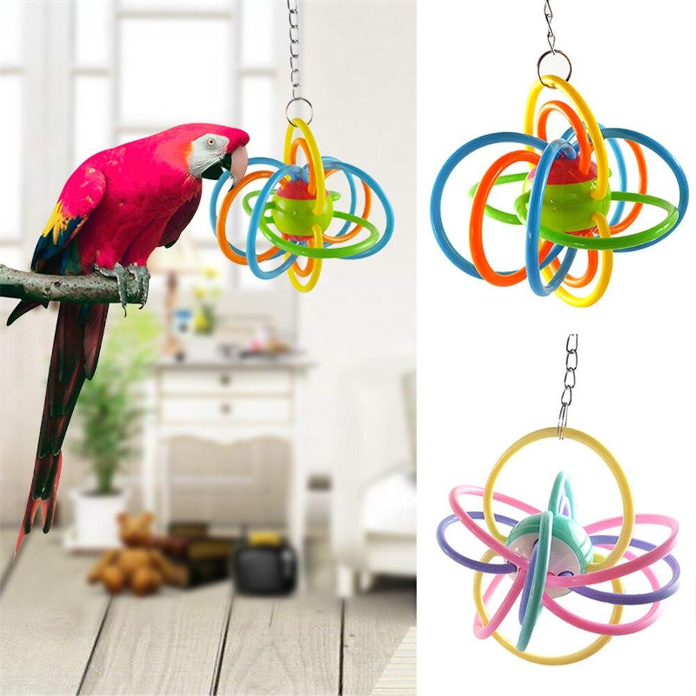 Parrot napi szükségletek-papagáj száj zselatin golyó-dekoratív - Pet termékek