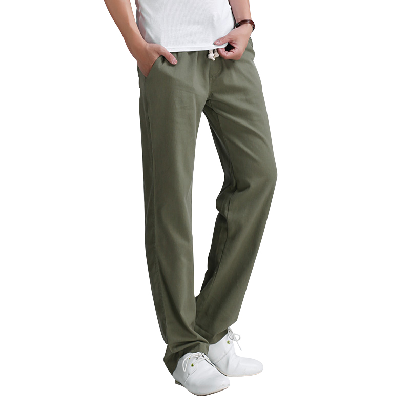 Men-s-casual-pants-2016-New-Men-s-solid-color-linen-casual-trousers-Stylish-and-comfortable (1)