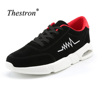 Thestron 2017 Men Running Shoes Air Damping Brand Running Sneakers Gray Male Running Shoes Spring Autumn