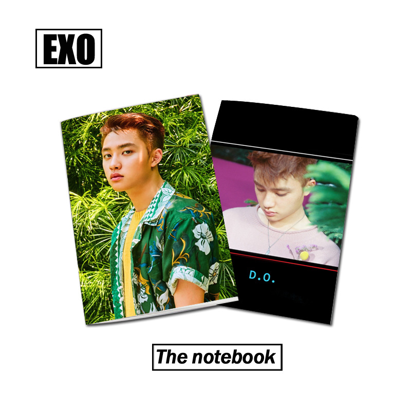 [MYKPOP]EXO THE WAR D.DO. Photo Exercise Book Lined Big Study Notebook Workbook Diary No ...