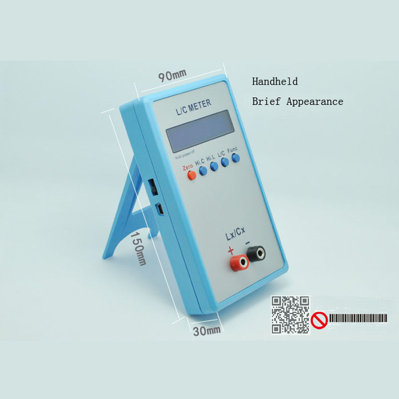 LC200A Handheld L/C Meter Inductance Capacitance Meter lc200a handheld l c meter inductance capacitance meter
