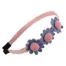 Cute Chic Floral Bow Headband Ribbon For Kids