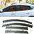 Coche Stylingg Toldos Refugios 4 unids/lote Viseras Ventana Para Toyota RAV4 2009-2015 Sol protección contra la Lluvia Cubre Las Pegatinas