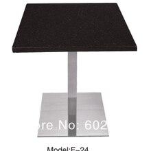 Журнальный столик, основание из нержавеющей стали и Мраморный верх, kd упаковка 1 шт/коробка, быстрая