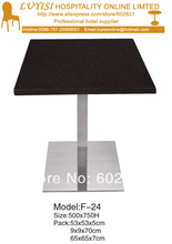coffee table stainless steel base and Marble top kd packing 1pc carton fast delivery