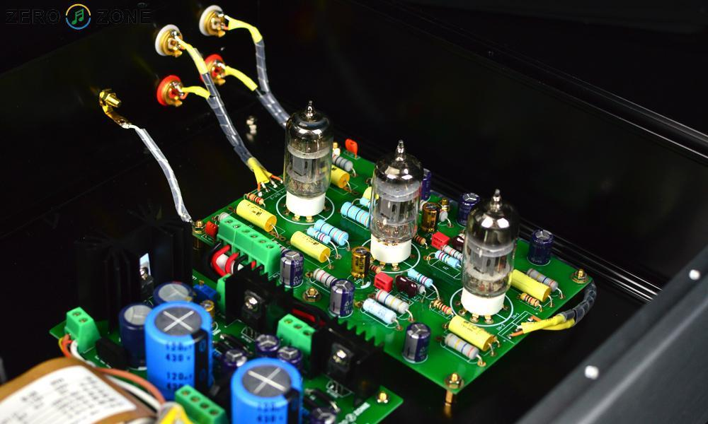 ZEROZONE ( DIY Kit ) MM RIAA Turntable Preamplifier Ear834 12AX7 Tube Phono Amplifier Full Kit nobsound ear834 mm moving magnet riaa jj 12ax7 tube phono stage turntable preamp hifi stereo preamplifier