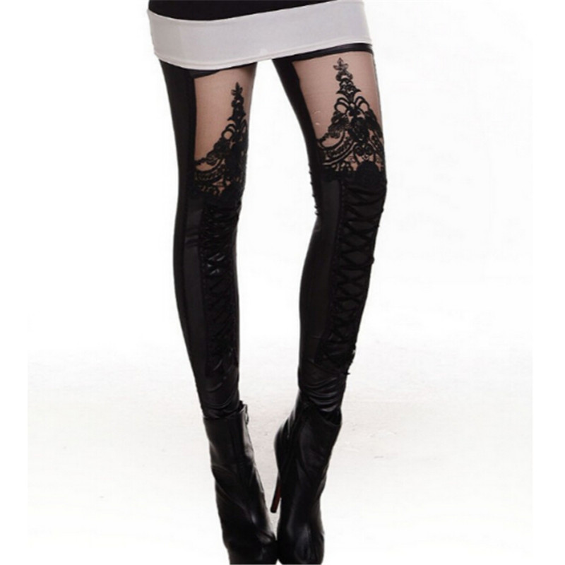 Popular Lace Black Leggings-Buy Cheap Lace Black Leggings lots ...