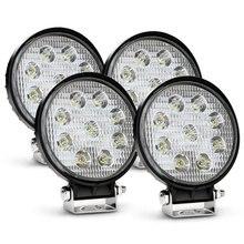 4pcs 12V 24V 27W LED Car Work Light Bar Motorcycle Lamps Spot LED Light Bar LED Car Foglight