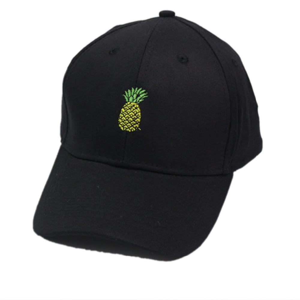 81542cf651c Daddy Chen Men Women Pineapple Dad Hat Baseball Cap Polo Style ...
