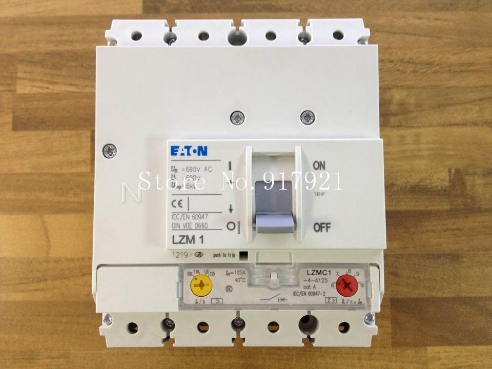 [ZOB] Muller MOELLER Eaton LZMB1-4-A125 circuit breaker 4P125A adjustable 100-125A original[ZOB] Muller MOELLER Eaton LZMB1-4-A125 circuit breaker 4P125A adjustable 100-125A original