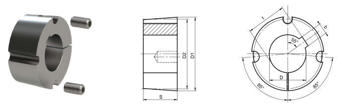 CPT 3030 конусный замок Буш 3030, 19~ 80 мм Диаметр отверстия, чугун сырье, запас 3030 коническая втулка