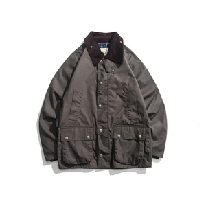 Image 1 - Mens Wax Oil Coat Waxed Waterproof Jacket Vintage Clothes Trench Coat