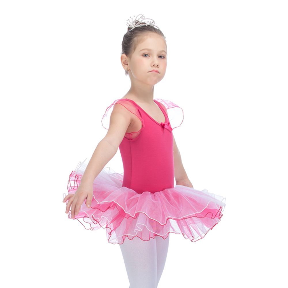 d3686cb05ac3 Kids Party Dress 4 Layers Tutus Yellow Cotton Lycra Puffy Short ...