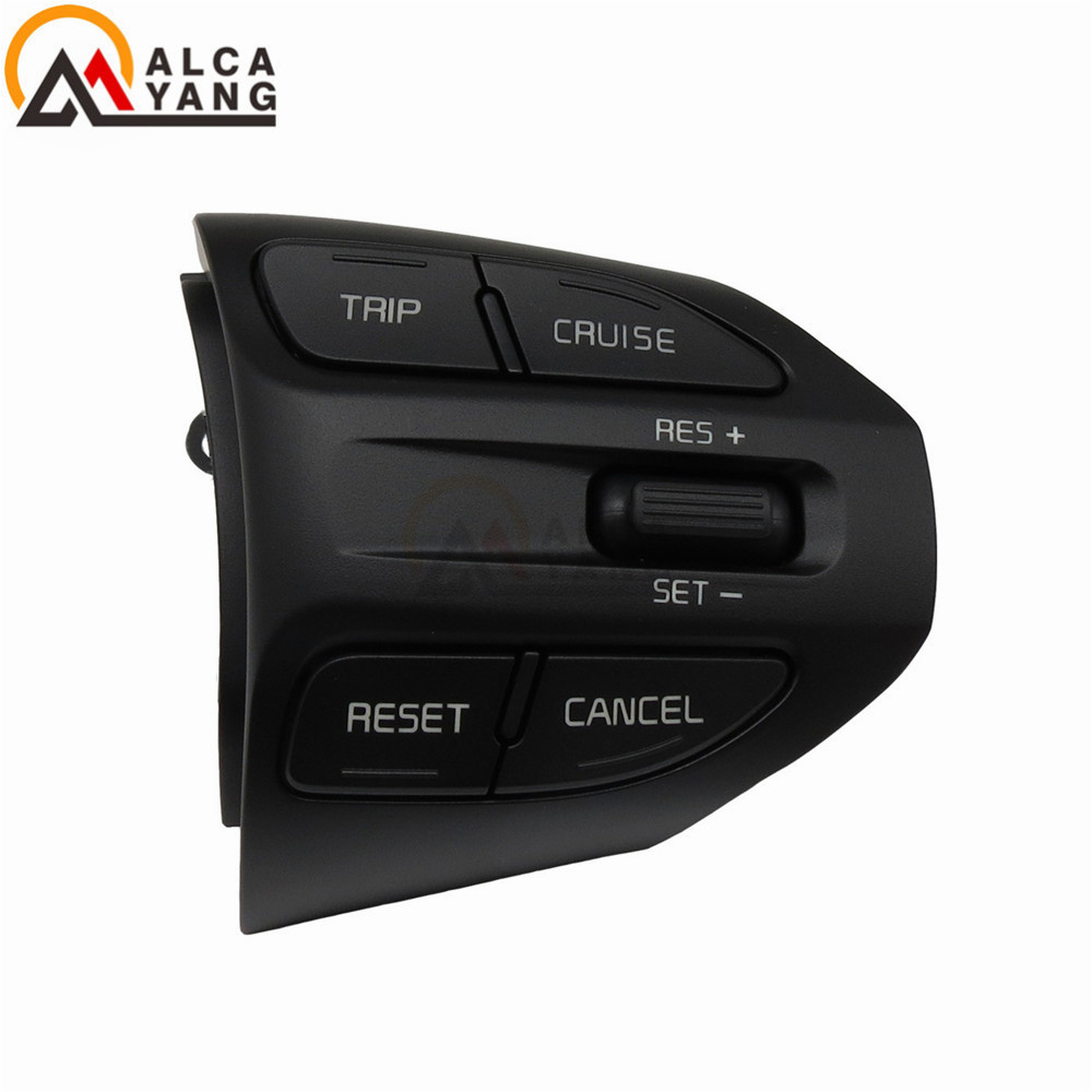 Steering Wheel Button For KIA K2 RIO 2016 2017 2018 Buttons Bluetooth Phone Cruise Control Volume cruise control steering wheel switches buttons multi function for kia kx5