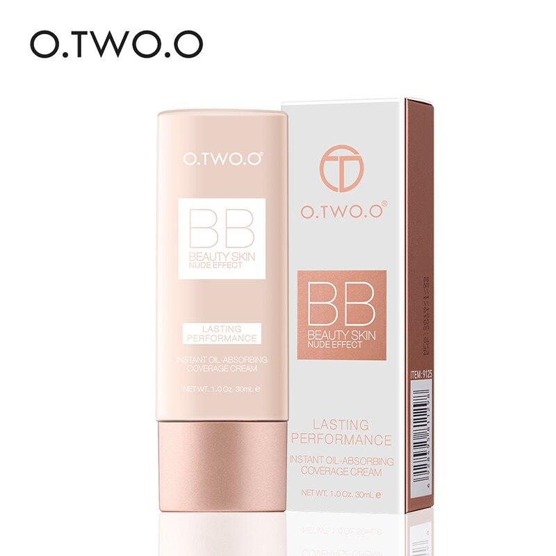 O.TWO.O Professional Make Up Base BB Cream Concealer Moisturizing Foundation Whitening Full Coverage Foundation Face Makeup