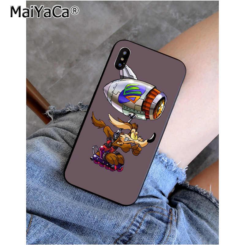 MaiYaCa Looney Tunes Quỷ Tasmania Taz Khách Hàng Chất Lượng Cao Ốp Lưng điện thoại Iphone 6 6 S 8 8Plus 5 5 5S SE 7 7 Plus XRX XS MAX