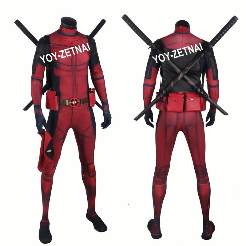 ᐅPelícula coser mejor calidad nueva llega deadpool traje con ...