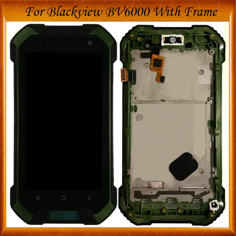 4.7 inch For Blackview BV 6000 LCD Display+Touch Screen With Frame Digitizer Assembly Replacement IN Stock4.7 inch For Blackview BV 6000 LCD Display+Touch Screen With Frame Digitizer Assembly Replacement IN Stock