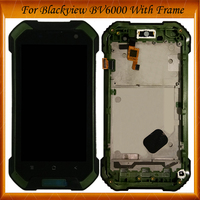 4.7 inch For Blackview BV 6000 LCD Display+Touch Screen With Frame Digitizer Assembly Replacement IN Stock