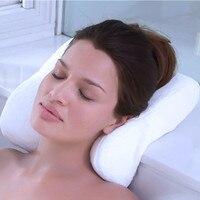 General Home Bath Pillows Soft Comfort Bath Accessories Pillow Adsorption Non slip Maison Spa Head Cushion Bathroom