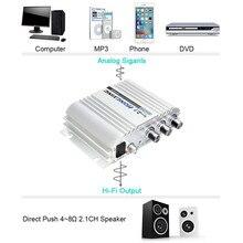 300 Вт 12 В автомобиля домой Super Bass Hi-Fi 2.1 стерео аудио Усилители домашние усилитель сабвуфера