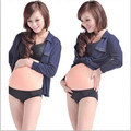 Silicone Artificial bebê barriga falso barriga de grávida falsa para realizando props 2 - 4 mês / 5-7 meses / 8 - 10 mês