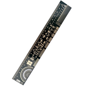 Image 2 - 10 шт. многофункциональная линейка PCB EDA измерительный инструмент Высокая точность транспортир 20 см черный