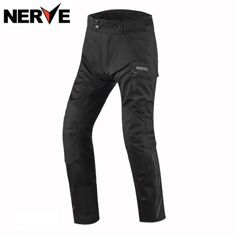 Livraison gratuite 1 pièces nerf été printemps maille respirant course pantalons longs Motocross pantalons moto pantalon avec 4 pièces Pad