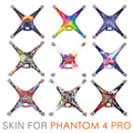 NEW PGYTECH 3M stickers skin decals for DJI phantom 4 PRO + RC drone with camera Accessories PVC 4K HD Quadcopter drones Parts