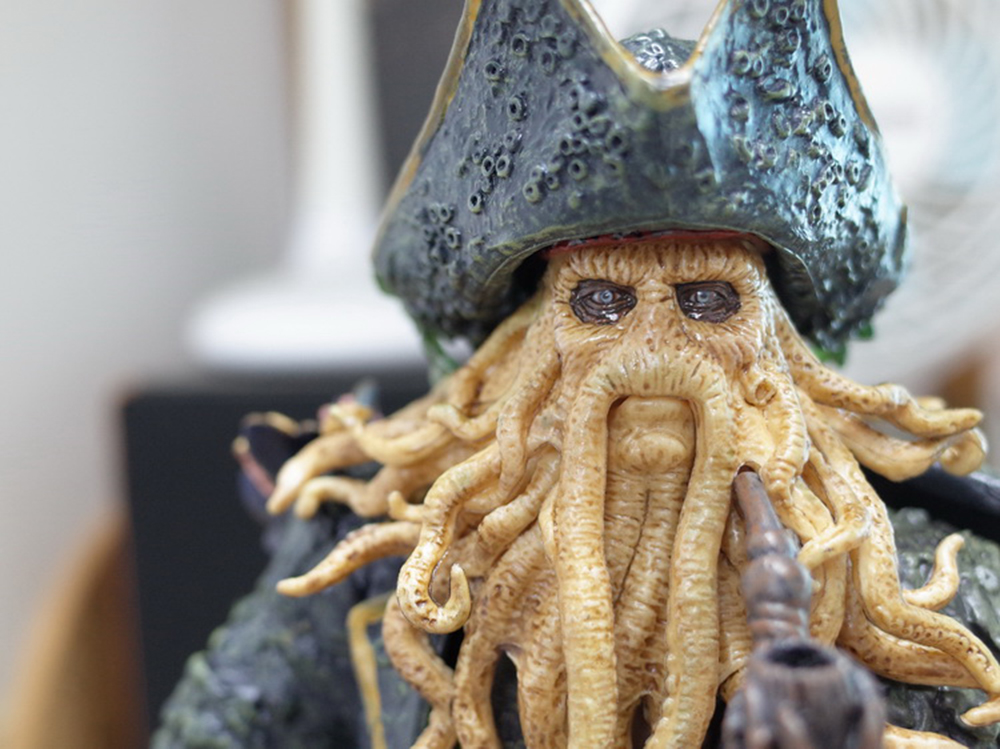 1/6 Caribbean Captain Action Figure Davy Jones figure doll full set doll With ACC Colletible Model Toys And original box 5