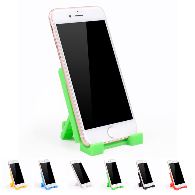 Portable Mini F1 PP Plastic Phone Tablet Bracket Holder for iPhone 5 6 7 8 X Plus for Samsung S7 8 9