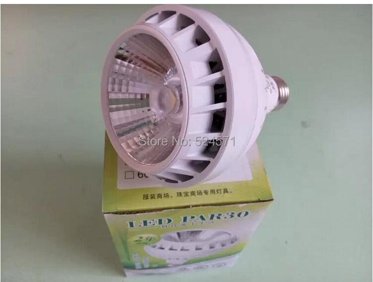 Free shipping 35W PAR30 Warm Cold White E27 Led Spot Light/Led  Down Light AC85-265V free shipping ac85 265v led spot light led ceiling light led down light 3w