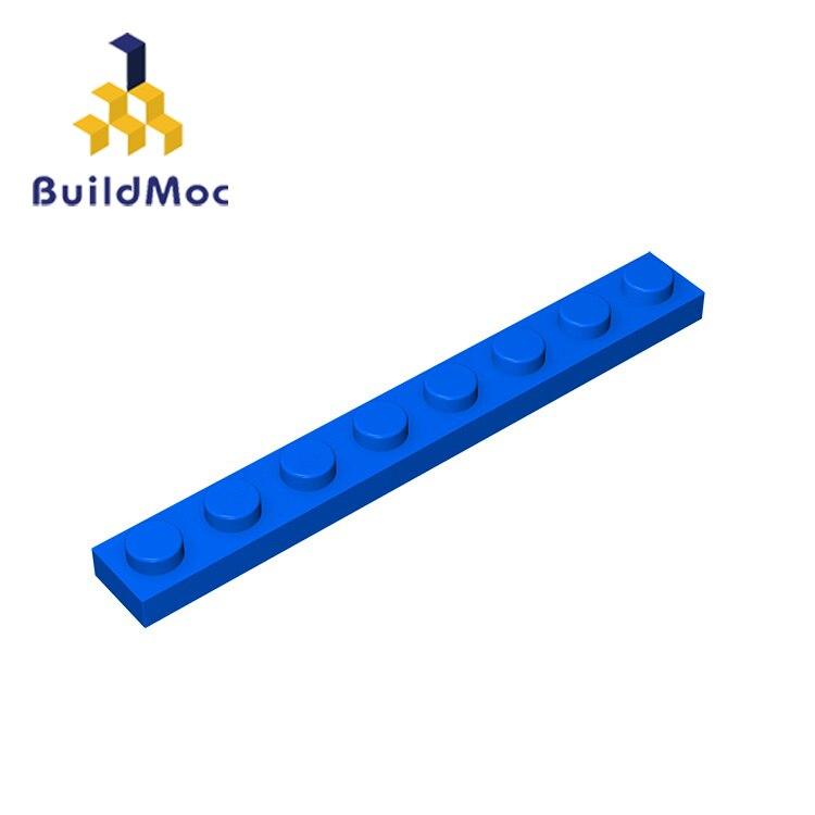 BuildMOC Compatible Assembles Particles 3460 1x8 For Building Blocks Parts DIY Educational Creative Gift Toys