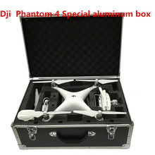 New Super cool DJI Phantom 4 Case Special Professional Aluminum Box Hard for FPV Drone DJI Phantom 4 Transmitter AR Quadcopter