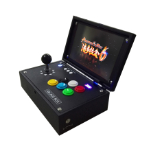 2019 New King of fighters Joystick Consoles with multi game PCB board 1300 in 1,pandora box 6 arcade joystick game console 2 player joystick game controller with multi game 1300 in 1 arcade game board
