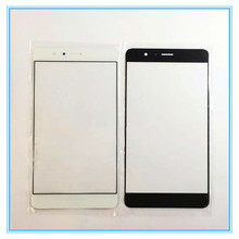 5pcs/lot A + Quality New replacement parts For Huawei honor v8 v 8 front LCD touch screen outer glass lens white black gold