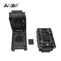 EMMC153 169 BGA153 BGA169 Burn In Socket Pin Pitch 0 5mm IC Body Size 12x18mm Test