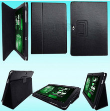 3 en 1 vente en gros Hot New PU housse en cuir pour Samsung Galaxy Note 10.1 N8000 N8010 + écran Film + Stylus