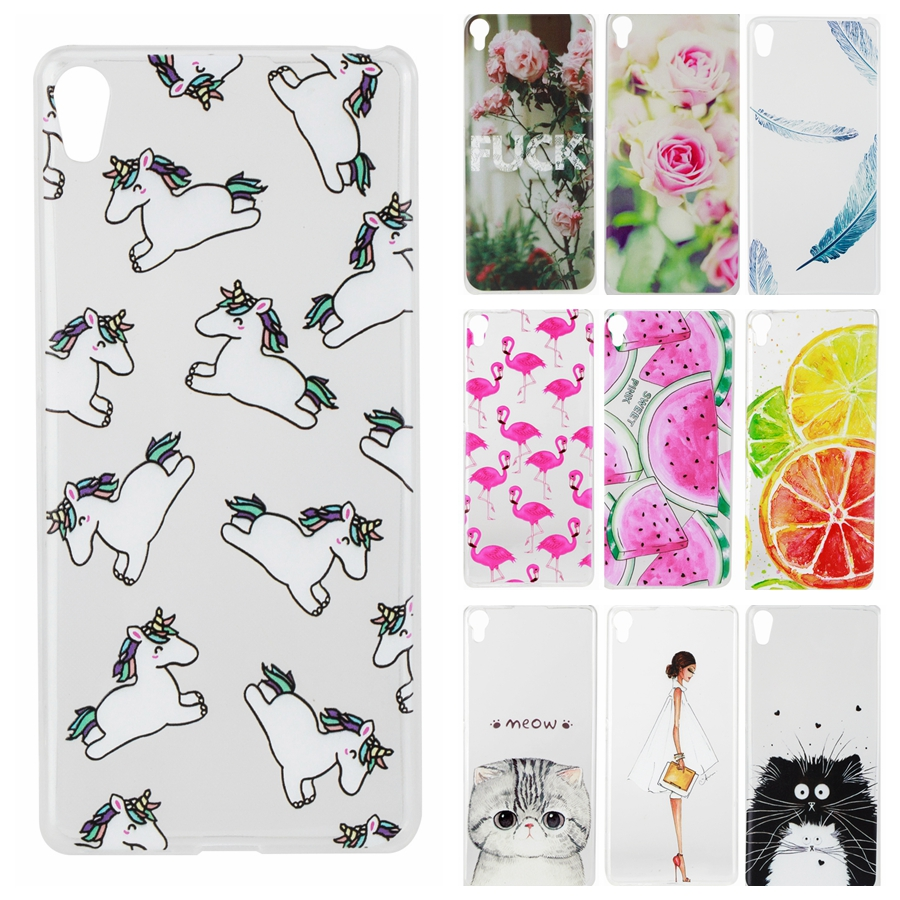 TPU Soft Cases sFor Fundas Sony Xperia XA case for Sony XA case F3111 F3113 F3115 Drawing Silicone Phone Cases Cover