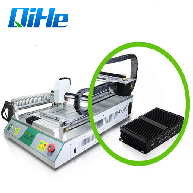 Low Cost SMT Pick And Place Machine/Cheap Chip Mounter Model TVM802AX Max 395*450mm For Smt Assembly Line Free Shipping