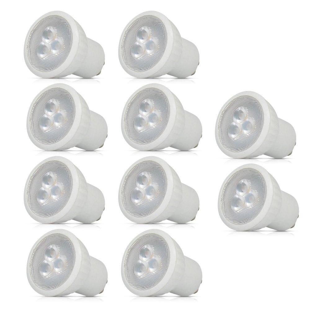 LED mini GU10 MR11 3W 35mm Scheinwerfer Birne Lampe ersetzen halogen lampe AC85-265V SMD 2835 Hause lichter