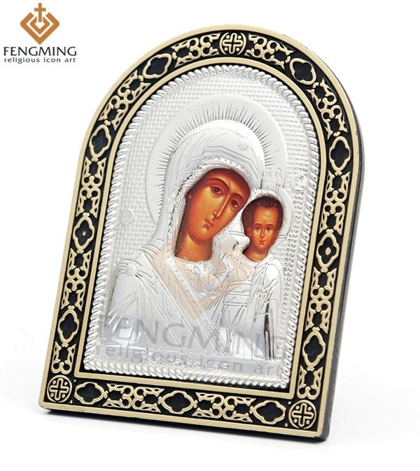 Módní levné stříbro bůh umění katolické symboly ortodoxní - Dekorace interiéru